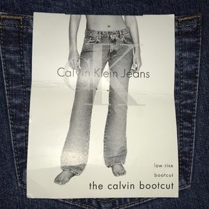 Calvin Klein Boot Cut NEW WITH TAGS 10/32L Cute!